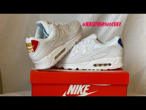 Nike Air Max 90 Premium Chaussures de Running Femme
