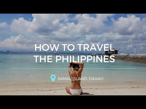 How to travel the Philippines: Samal Island, Davao travel vlog | supershyr