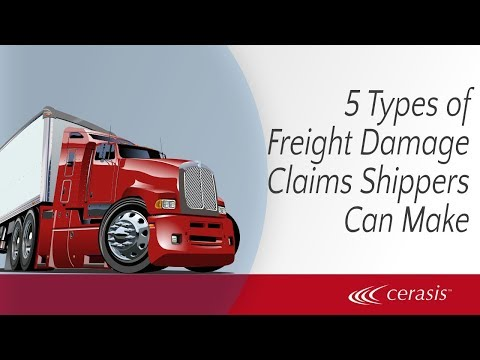 5 Types Of Freight Damage Claims Shippers Can Make