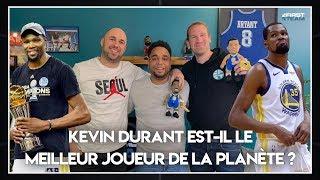 KEVIN DURANT EST-IL LE MEILLEUR JOUEUR DU MONDE ? NBA First Day Show 80