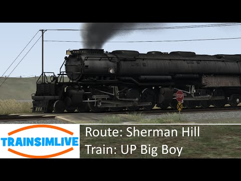 Train Simulator 2015 - Sherman Hill, 4-8-8-4 UP Big Boy