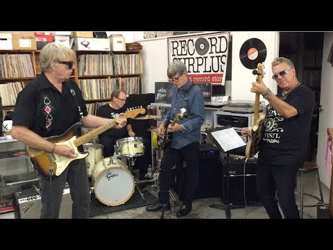 LOS RUMBLERS - Tribute to Link Wray - At Record Surplus, Los Angeles