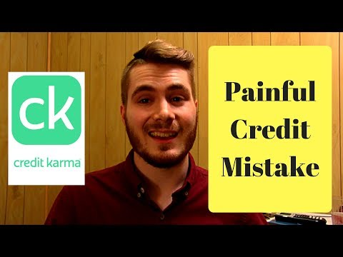 The Biggest Mistake on Credit Karma