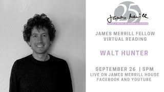 Walt Hunter Virtual Reading
