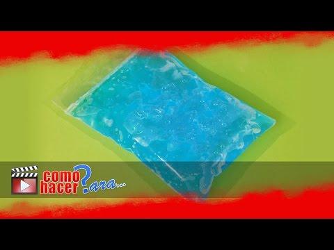 Cómo hacer Gel Frío - Bolsas de Gel para Congelar