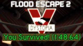 Roblox | FE2 Map Test: Dystopia(Speedrun(1:48.64)(Second Place??))