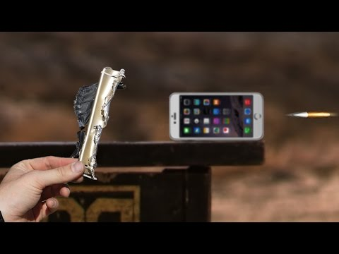 iPhone 6 Plus Goes Up For a 'Bullet Test' Against a 50-Calibre Sniper Rifle