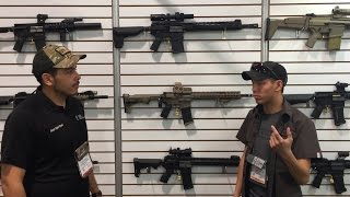 Shot Show 2016 - PTS GBB Review *NEW* .308 GBBR OEM BY KWA!