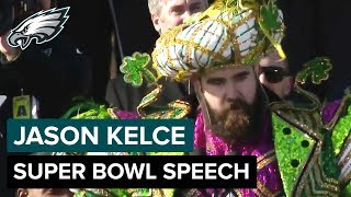 Jason Kelce on His Epic Super Bowl Speech & David Akers Trolling the Cowboys | Philadelphia Eagles