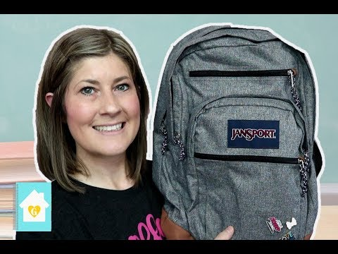 WHAT'S IN MY TEACHER BACKPACK | 2018-2019 SCHOOL YEAR