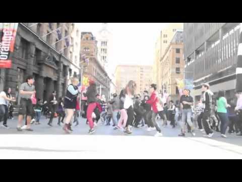 Sydney Gangnam Style Flashmob