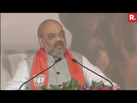 Amit Shah's Full Speech In Gandhinagar