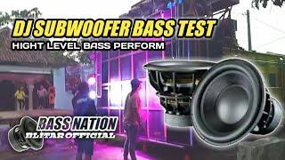 DJ SUBWOOFER BASS TEST - ALONE BASS BOOSTED FULL ALBUM TERBARU 2021