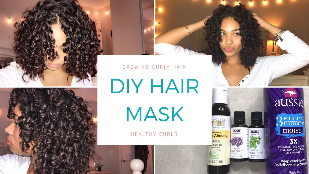 diy hair mask| how to grow healthy curly hair| drugstore/affordable