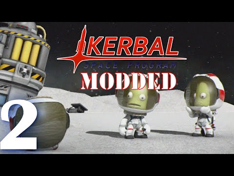 Kerbal Space Program (Modded Multiplayer) - Episode 2