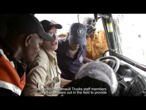 Renault Trucks – World Food Programme : cross-interviews
