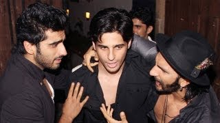 Video - Arjun Kapoor celebrates his birthday with Ranbir, Dhanush, Varun Dhawan & Ranveer Singh