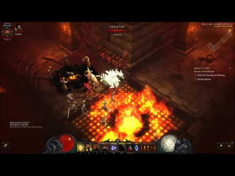 Diablo  Crusader Blessed Hammer Build Xbox One
