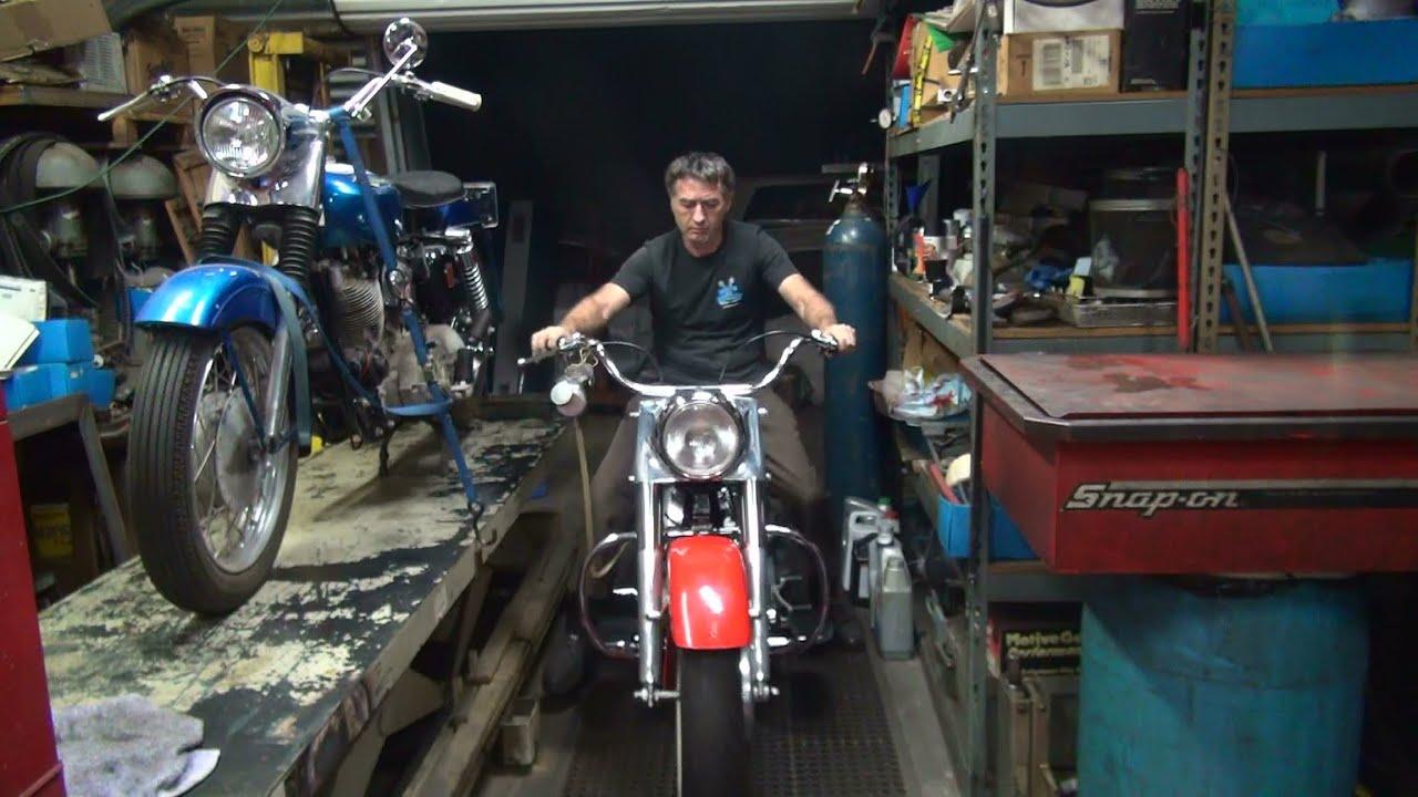 1967 74ci shovelhead #206 flh bike assembly transmission rebuild harley  craigslist tatro machine