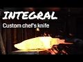 Gambar cover INTEGRAL DAMASCUS CHEFS KNIFE 🔥 Pt. 1