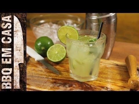 CAIPIRINHA - DRINKS PARA SEU CHURRASCO!