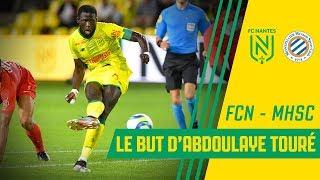 Le but d'Abdoulaye Touré face à Montpellier