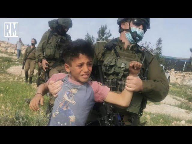 Palestinian Children Brutalized by Israeli Occupation Forces