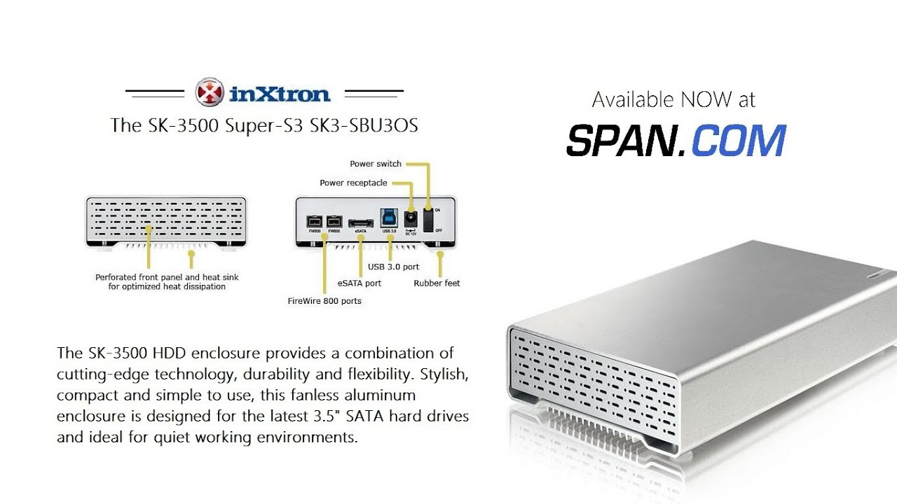 Case Overview The Inxtron Macpower Sk 3500 Super S3 With Usb 30 Firewire Diagram Fw800