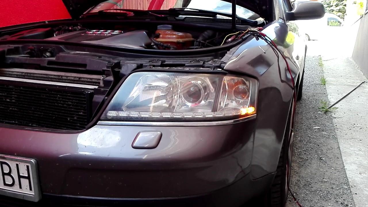 Audi A6 C5 Led Headlight Youtube