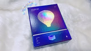 UNBOXING BTS (방탄소년단) THE WINGS TOUR IN SEOUL (DVD VERSION)