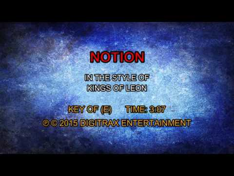 Kings Of Leon - Notion (Backing Track)