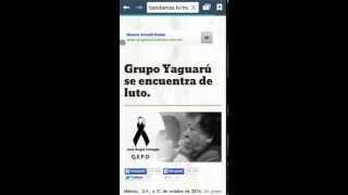 Fallece ángel venegas líder de grupo yaguaru