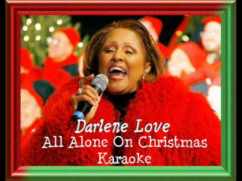All Alone on Christmas - Darlene Love Karaoke (Song from Home ...