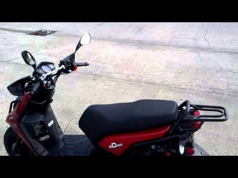 SSR X6 (Yamaha Zuma Clone)150cc Scooter Mini Review