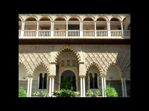 "Beauties of SEVILLA / SEVILLE with music ""Carmen"" (Andalusia, Andalucía)"