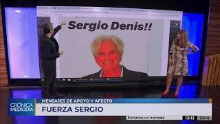 Artistas y músicos envían sus mensajes a Sergio Denis