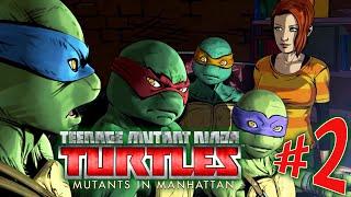 Teenage Mutant Ninja Turtles: Mutants in Manhattan - Parte 2: PIZZA! [ PC - Playthrough ]