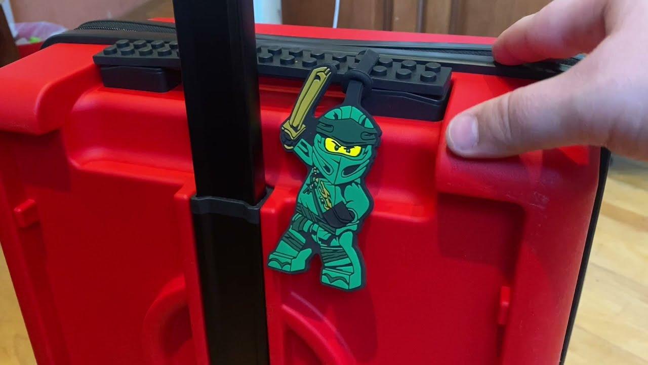 Новый чемодан LEGO - обзор от Товарища Сафронова