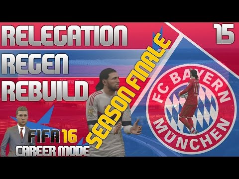 FIFA 16 Bayern Munich Career Mode - RRR - E15