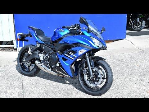 2018 Kawasaki Ninja 650 quick review