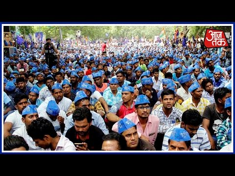 Dalit Community Protests Against The UP Government At Jantar Mantar, Delhi