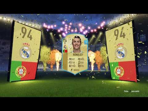 FIFA 18 RONALDO EDITION Y PACK OPENING