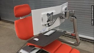 Altwork Reclining Desk Ushers In Our Dystopian Future - Newsy