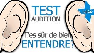 TEST de l'AUDITION avec réglages | Htz | Test tonal | Test vocal