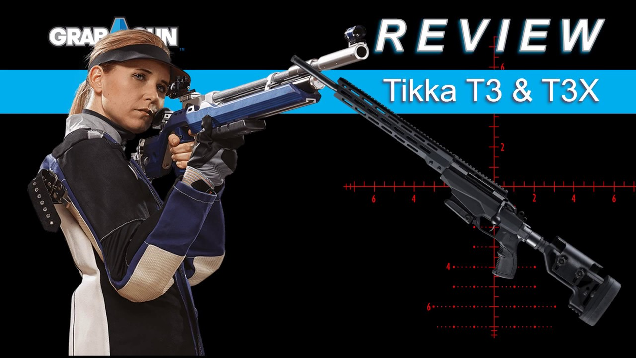 Tikka T3x Lite  204 Ruger 20-inch 3rds Synthetic Stock Blued Bolt Action  Rifle