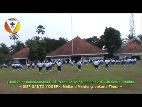 Gladi Kotor HUT Pramuka ke-51, Drum Band SMP Santo Yoseph Metland Menteng, ...