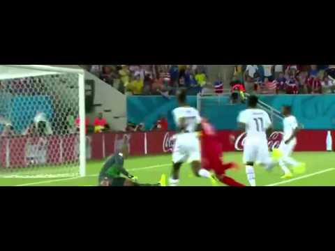 Ghana vs USA 1 2 All Goals & Highlights World Cup 2014