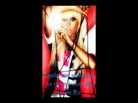 Lady Gaga - Vanity W/ Lyrics *On Screen*