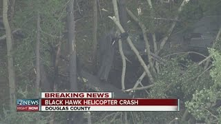 Black Hawk helicopter crashes in Douglas County