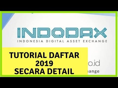 Cara Membuat Akun Indodax Terbaru 2019 Secara Detail
